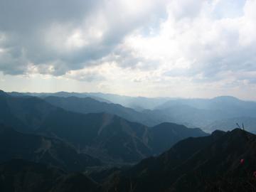 大持山からの景色